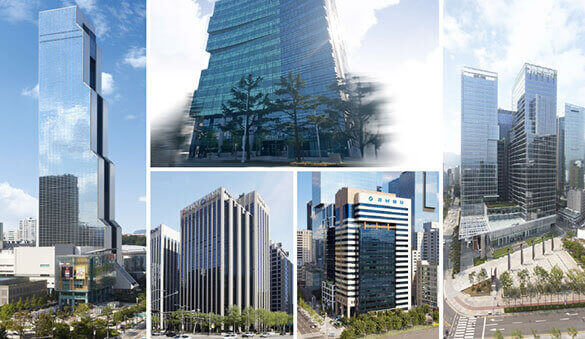Office space in Seoul and 14 other cities in Korea, Republic of