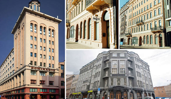 Business packages in Riga and 3 other cities in Latvia