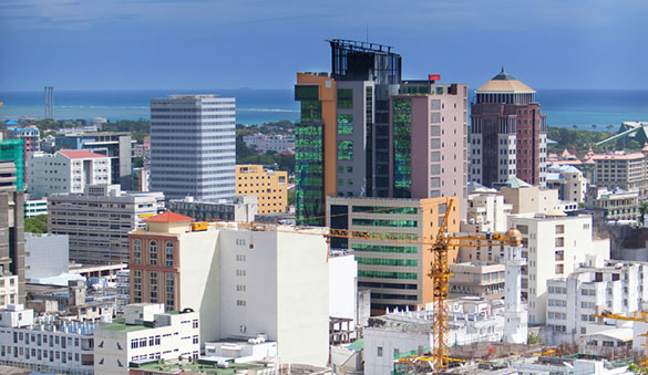 Office space in Port Louis and 3 other cities in Mauritius