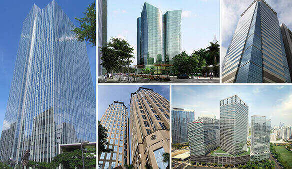 Office space in Manila and 28 other cities in Philippines