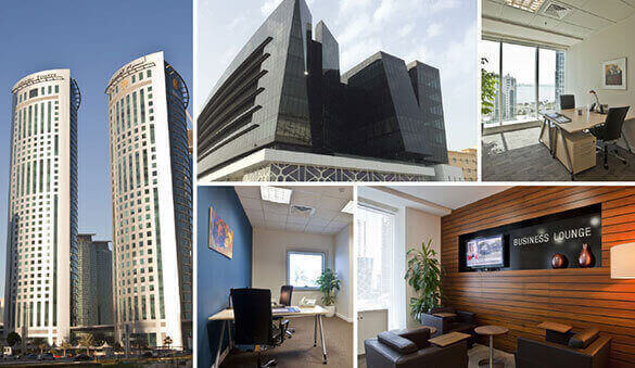 Office space in Doha Downtown and 9 other cities in Qatar