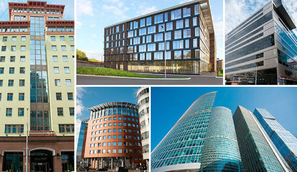 Office space in Moscow and 19 other cities in Russia