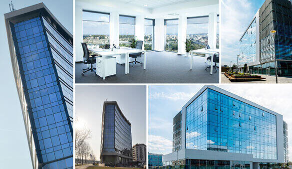 Office space in Belgrade and 4 other cities in Serbia