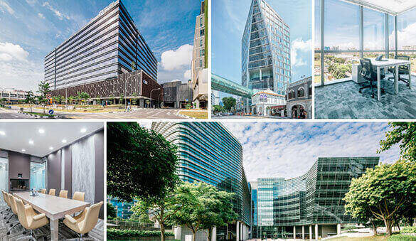 Office space in Chongqing and 31 other cities in Singapore