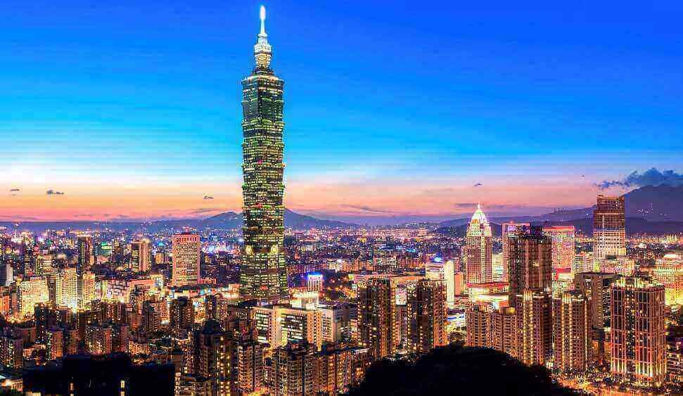 Office space in Taipei and 13 other cities in Taiwan