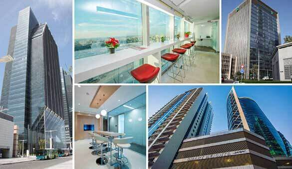 Office space in Dubai and 22 other cities in United Arab Emirates