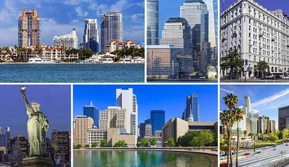 Office space in Miami Beach and 1064 other cities in United States